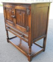 Antique Style Oak Cupboard by Jaycee